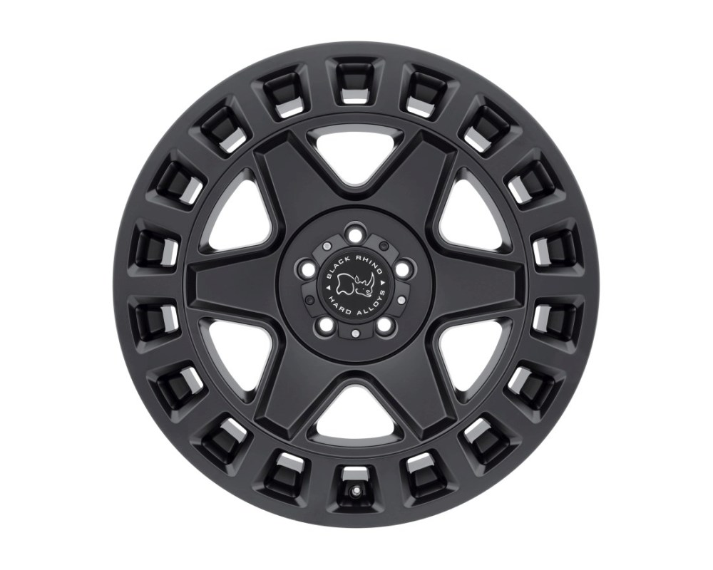 Black Rhino York Matte Black Wheel 17x9 5x139.70|5x5.5 0mm CB78.1 - 1790YRK005140M78