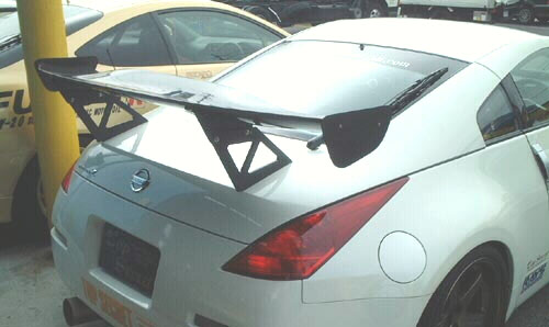 Top Secret GT-II Carbon Fiber Wing Nissan 350Z