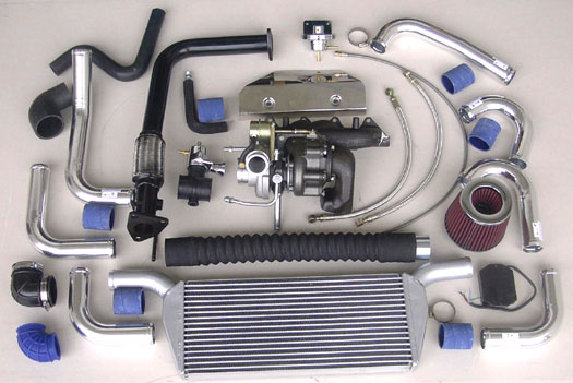 Turbo Specialties T25 Extreme Turbo Kit Honda Accord F20B | F22B 98-02 - HA2502E