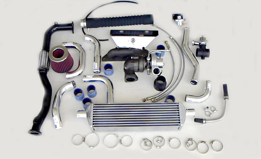 Turbo Specialties T25 Extreme Turbo Kit Toyota Corolla 1ZZ-FE 98-02 - TC2502E