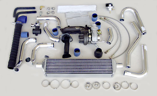 Turbo Specialties T25R Extreme Turbo Kit Toyota Corolla 1ZZ-FE 99-02 - TC25B2E