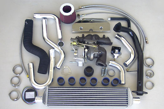 Turbo Specialties T25 Extreme Turbo Kit Honda Civic D16A 93-00 - HC2501E