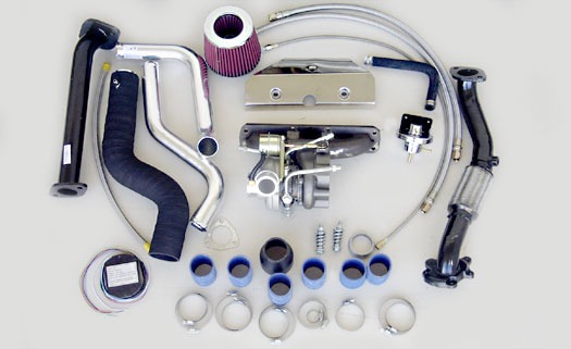 Turbo Specialties T25 Superior Turbo Kit Mazda Miata 1.6L B6-ZE 90-93 - MM2501S