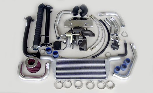 Turbo Specialties T25 Extreme Turbo Kit Honda Civic D17A 01-05 - HC2503E