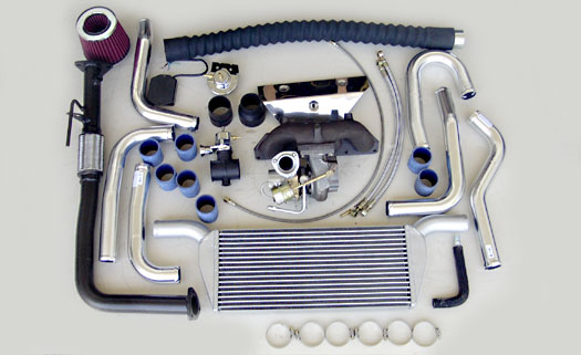 Turbo Specialties T25 Extreme Turbo Kit Honda Prelude F22B 97-01 - HP2501E