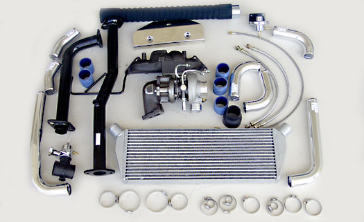 Turbo Specialties T25 Extreme Turbo Kit Mitsubishi Lancer 4G93 | 4G94 02-06 - ML2501E