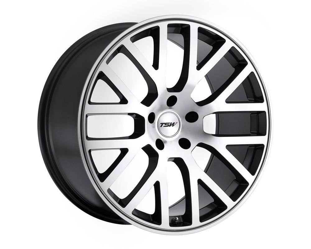 TSW Donington Gunmetal Mirror Cut Face Wheel 19x8 5x114.30 42mm - 1980DON425114B76