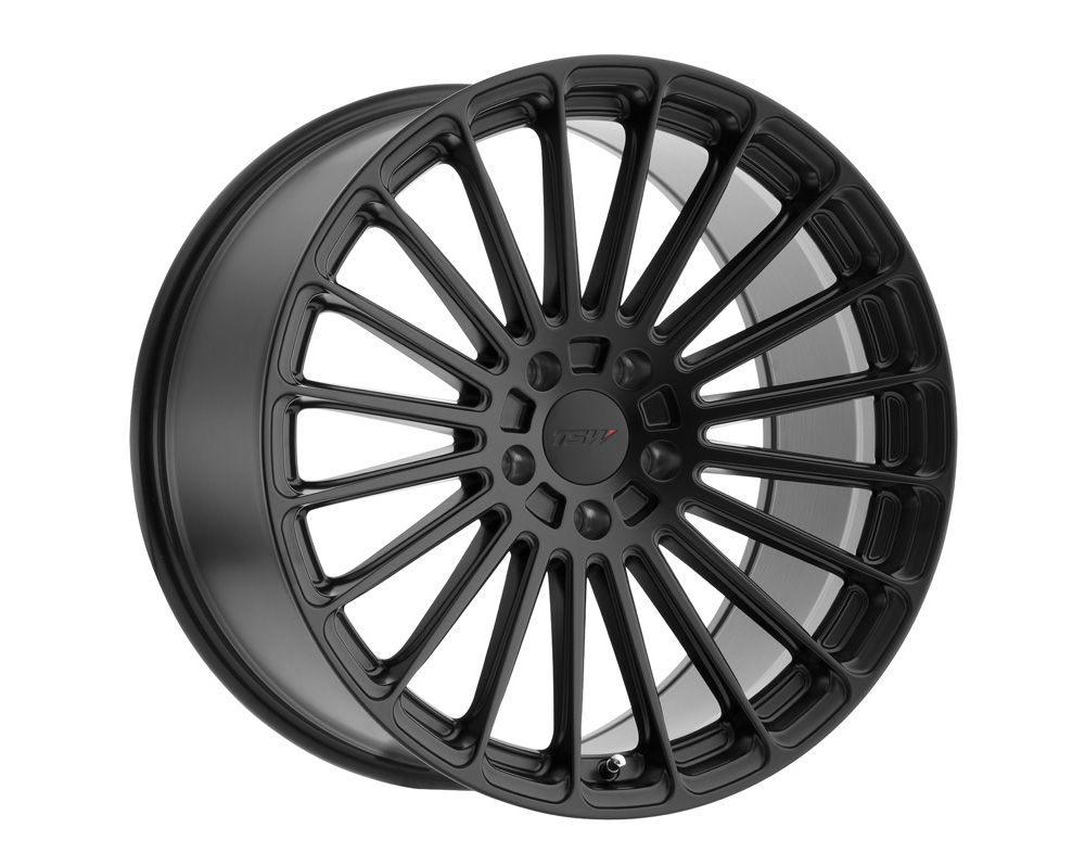 TSW Turbina Matte Black Wheel 19x8.5 5x112 42mm - 1985TUR425112M72