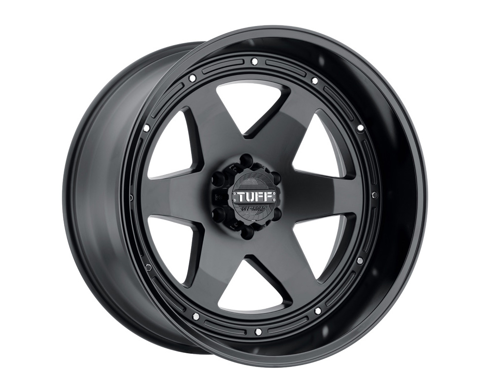 Tuff A.T. T1A Gloss Gold w/Gloss Black Wheel 15x8 5x139.7 -13mm - 1580T1A-35140F08