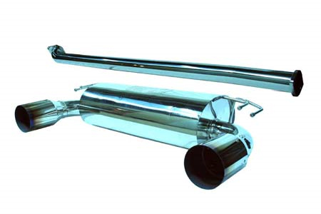 TurboXS Race Turboback Exhaust System Mitsubishi EVO X 08-12 RACE USE ONLY - EVOX-TBE-RP