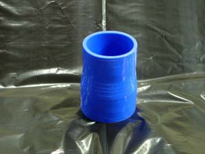 TurboXS Silicone Straight Reducer 25-38mm Blue