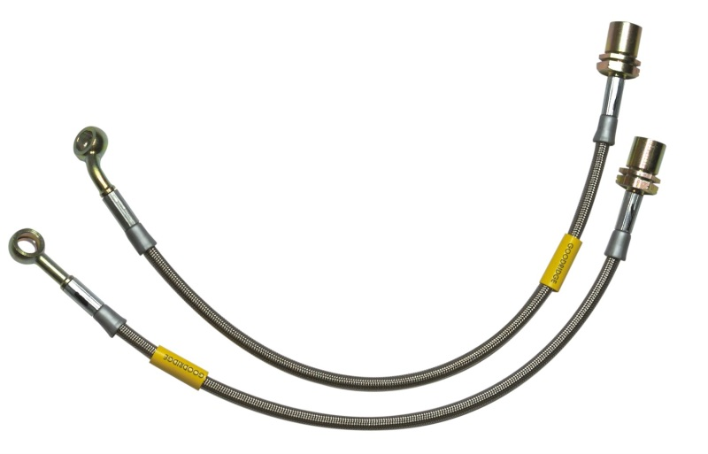 Goodridge 09-01/10 Ford F-150 (All Models) 2in Extended 2in Extended Line SS Brake Line Kit - 2-13100