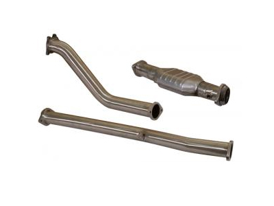 TurboXS Catted Stealthback Exhaust Subaru WRX STI 02-07 - WS02-SBE