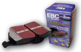 EBC Ultimax Premium OEM Front Replacement Brake Pads Volkswagen GTI 2.8L 05-09