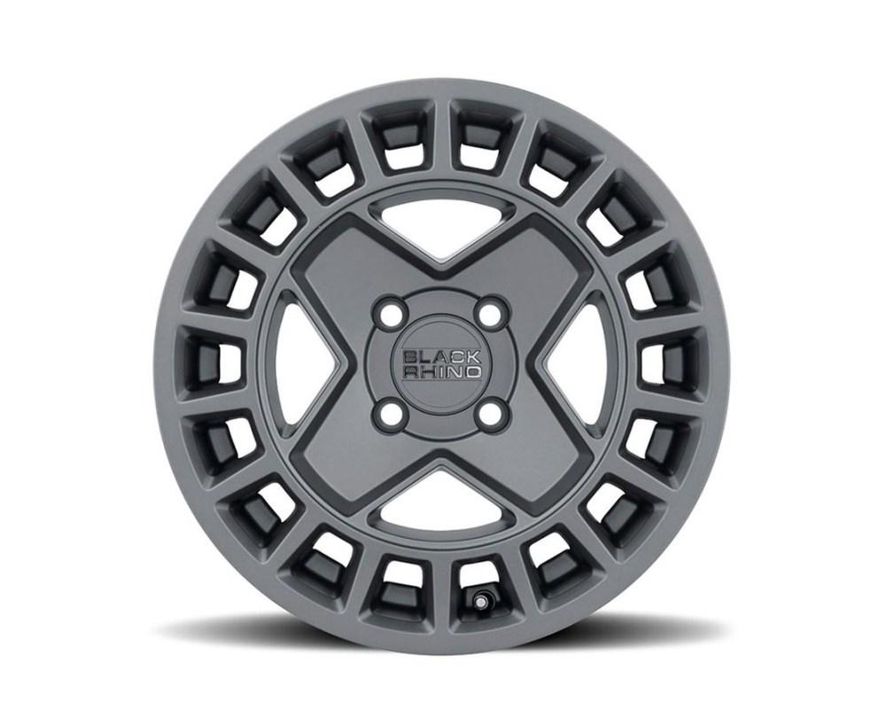 Black Rhino York UTV Matte Gunmetal Wheel 15mm x7 4x110 10mm CB79.4 - 1570YRK104110G79