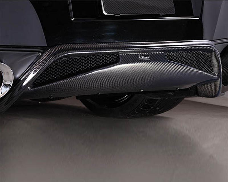 Image of Varis Carbon Fiber Rear Diffuser Cover Nissan R35 GT-R 09