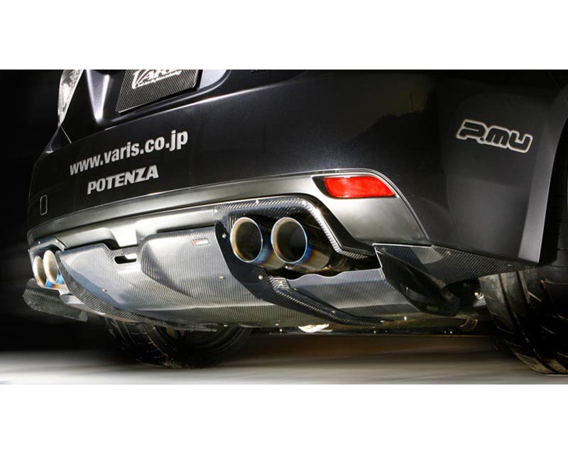 Varis FRP and Carbon Fiber Rear Diffuser Subaru STI GRB 08-12 - VASU-092