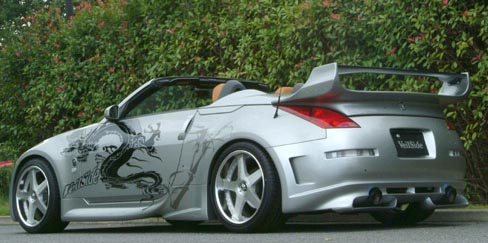 Veilside version 3 frp rear wing nissan 350z z33 roadster 03 08 publicscrutiny Images