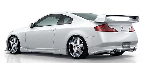 Veilside Version 1 FRP & Carbon Rear Wing Infiniti G35 Coupe 03-07