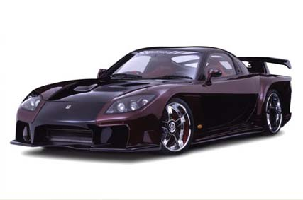 Veilside Fortune Full Body Kit Mazda RX7 FD3S 93-02 - AE089-01