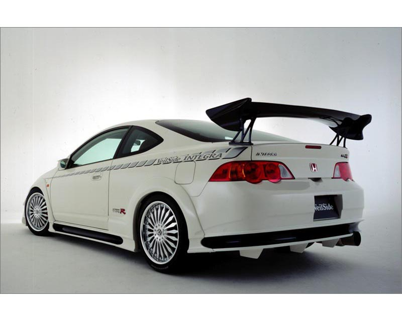 VeilSide 2002-2004 Acura RSX DC5 Racing Edition Complete Kit With Fenders Trim (FRP) - AE064