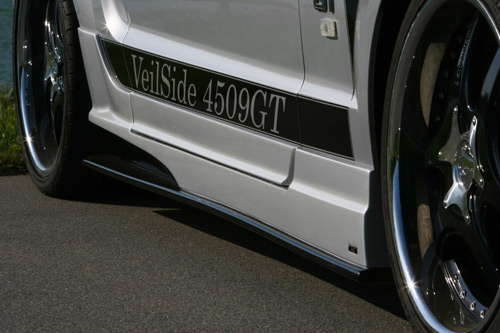 Veilside d1 gt side skirts and door panels ford mustang 05 09 for 05 mustang door panels