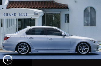 Vertex Vertice Side Skirts BMW E60 5 Series 04-07 - VERTICE-E60-SS