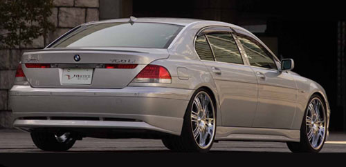 Vertex Vertice Rear Lip BMW 7 Series E65/E66 Long Wheelbase 06-10 - VERTICE-E65/E66K-L-RH