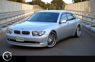 Vertex Vertice Side Skirts BMW 7 Series E65/E66 Long Wheelbase 02-05/27/05 - VERTICE-E65/E66Z-L-SS