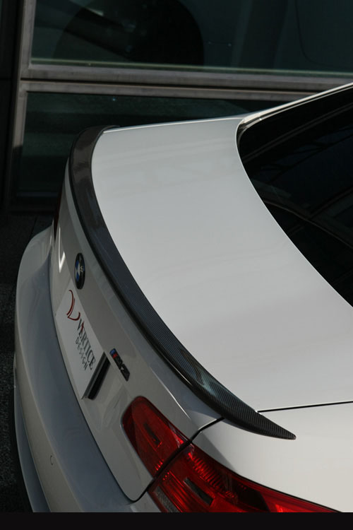Vertex Vertice CFRP Wide Body Rear Spoiler BMW E92 Coupe 3 Series 07-11 - VERTICE-E923SER-CFRP-RS