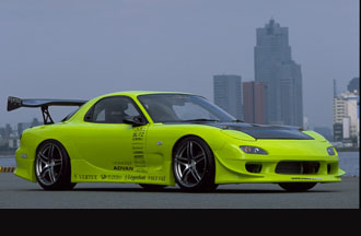Vertex Full Body Kit Mazda RX-7 93-02 - VER-FD3S-FK