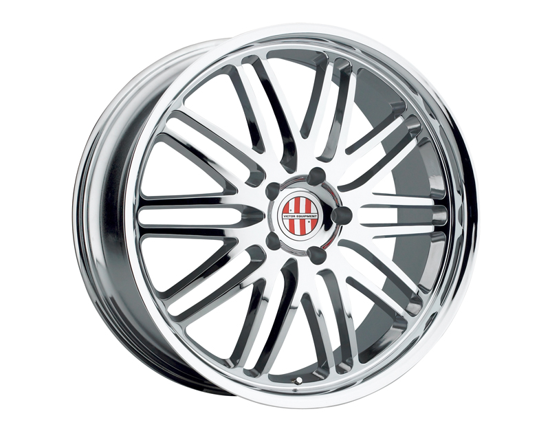 Victor Equipment Le Mans 19X9.5 5x130 49mm Chrome - VE-1995VIL495130C71