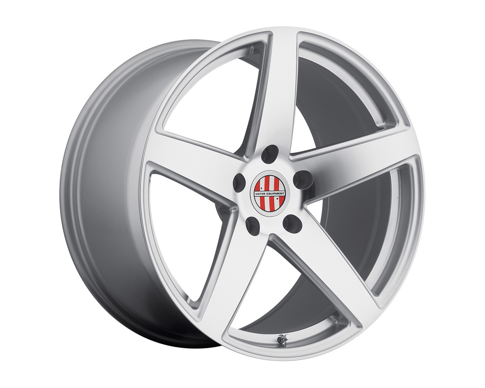 Victor Equipment Baden Silver w/Mirror Cut Face Wheel 18x10.5 5x130 55mm - 1805VIB555130S71