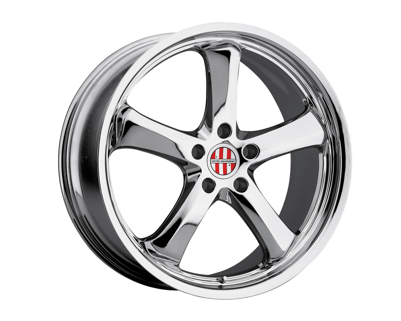 Victor Equipment Turismo 18X9.5 5x130 49mm Chrome - VE-1895VIT495130C71