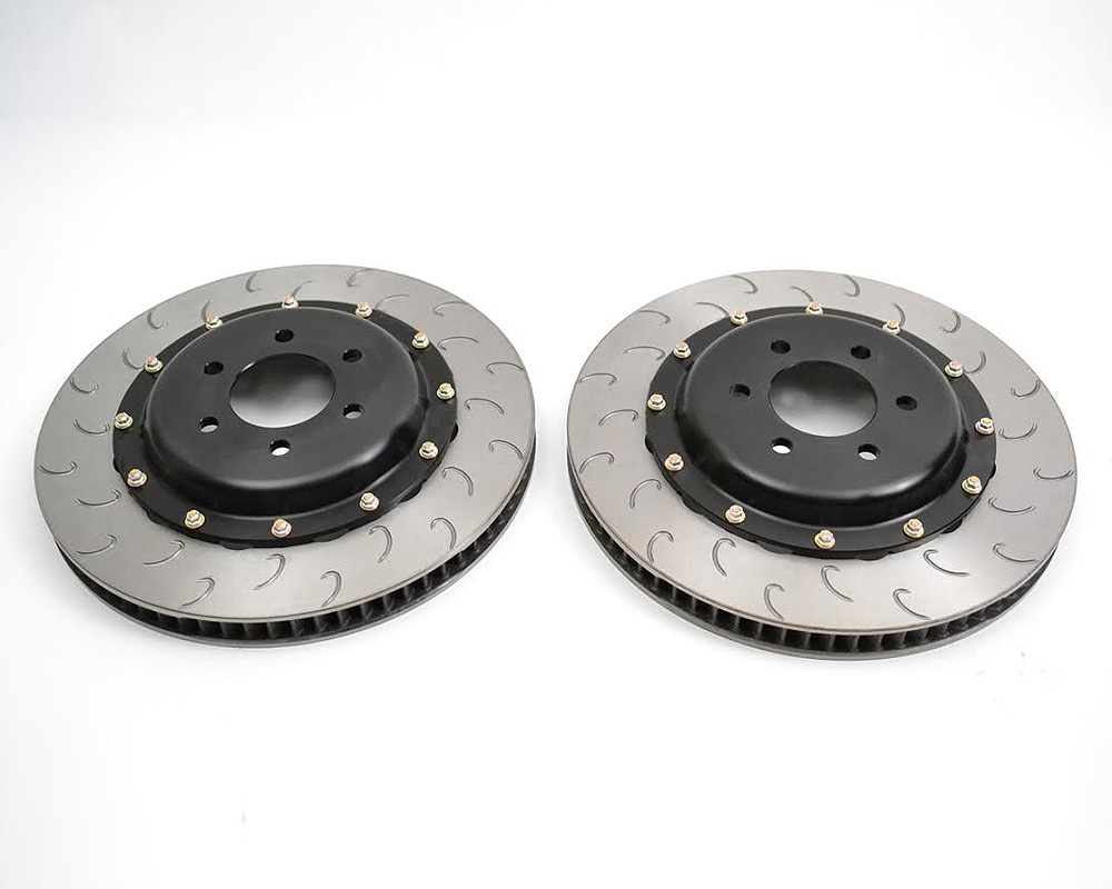 Image of AP Racing Heavy Duty J Hook Front Two Piece Endurance Racing Discs Dodge Viper 08-10