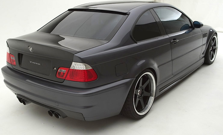 Vorsteiner V-CSL Trunk Lid Double Sided Carbon BMW E46 M3 01-05