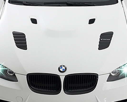 Vorsteiner GTS3 Double Sided Carbon Fiber Hood BMW E92 E93 M3 08+