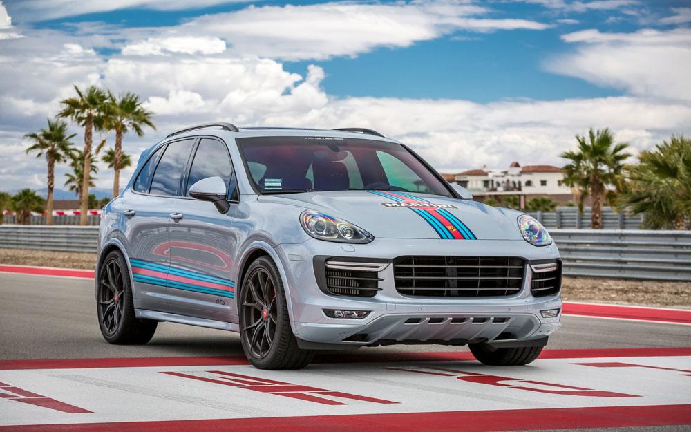 Vorsteiner V-FF 103 Wheel Flow Forged Package 21x10 5x130 45mm Porsche Cayenne - 103.21100.5130.45S.71