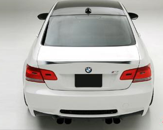 Vorsteiner Carbon Aero Trunk Lid Single Sided Black BMW E90 M3 Sedan 08+
