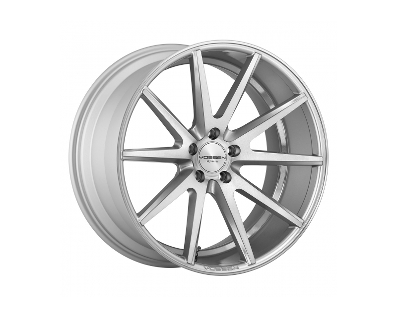 Vossen VFS1 Silver with Polished Face Flow Formed Wheel 22x10.5 5x115 20mm - VFS1-2D32
