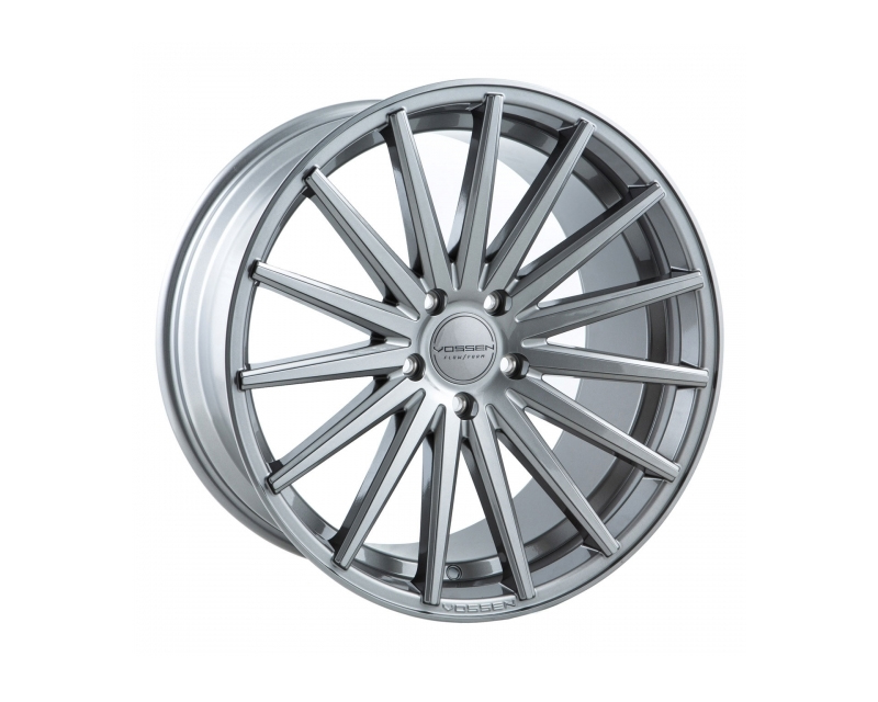 Vossen VFS2 Silver with Polished Face Flow Formed Wheel 22x10.5 5x112 42mm - VFS2-2M33