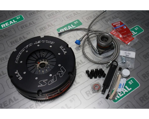 RPS Push Style Carbon Twin Disc Clutch Kit With Steel Flywheel Toyota Supra 1993-1998 - 22170-T2SH