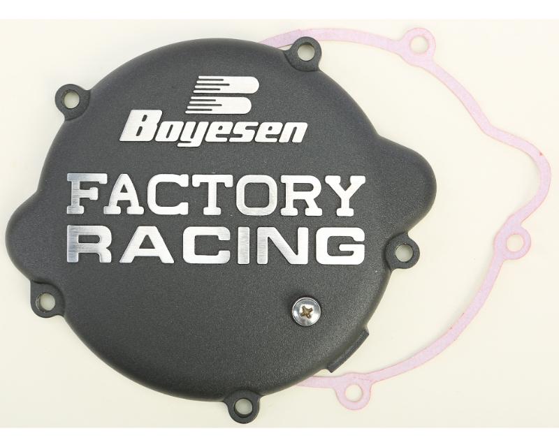 Boyesen Factory Racing Clutch Cover Black KTM SX | Husqvarna TC 85 2006-2017 - CC-46B