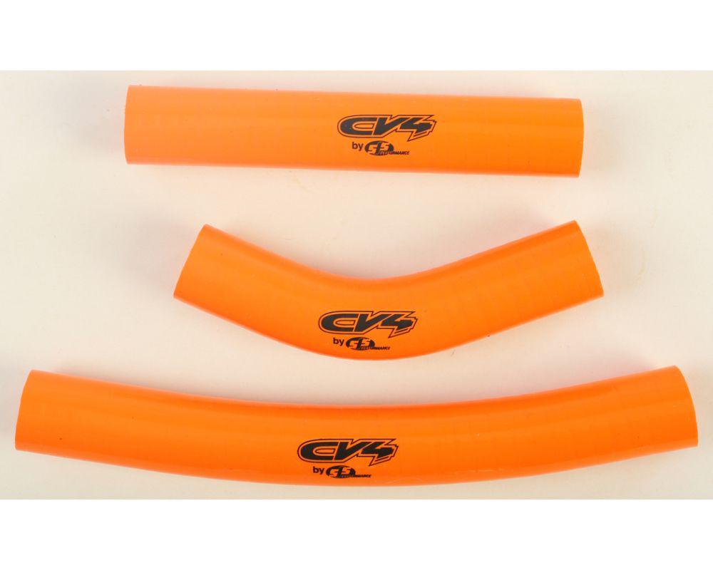 CV4 Orange Standard Radiator Hose Kit for Husqvarna/KTM - SFSMBC177O