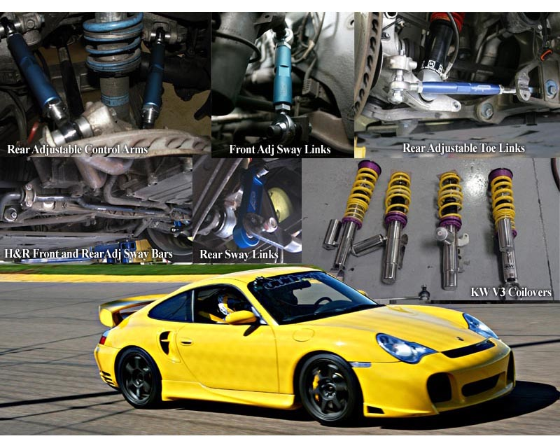 VR Stage 3 Suspension Package Porsche 996TT C4S 01-05 - VR-996TT-SUS3