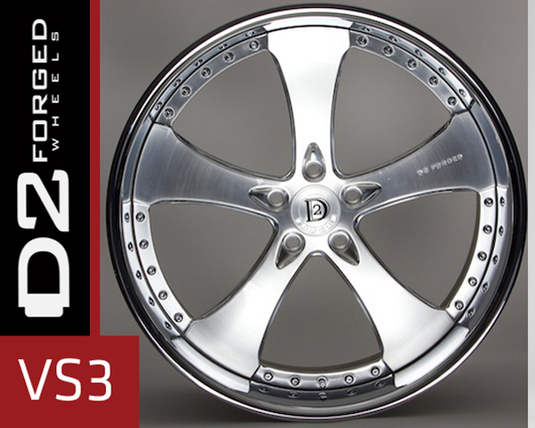 D2FORGED VS3 Forged 3-Piece Wheel 22 Inch
