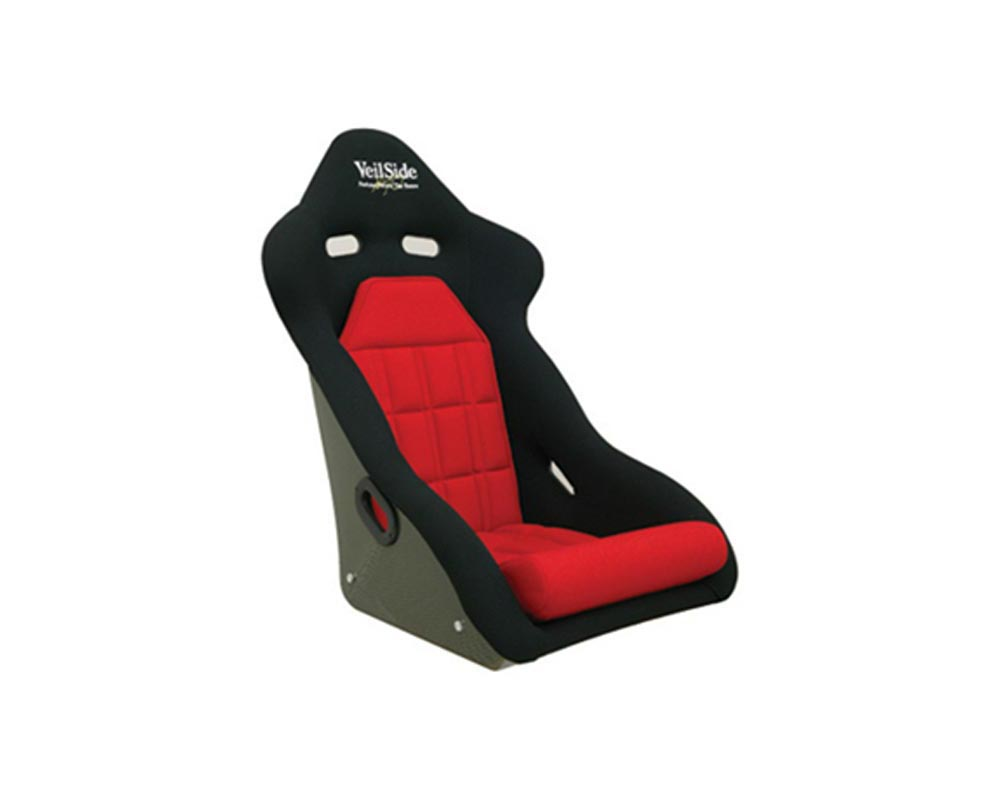 VeilSide D-1R Carbon Racing Seat Black/Red - FA010-01REDC