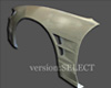 Image of Version Select Dual Vent Front Fenders Nissan 240SX S13 89-94