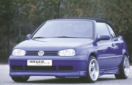 Rieger R-RS Front Lip Spoiler Volkswange Golf IV Cabrio Euro 98-05 - R 59020