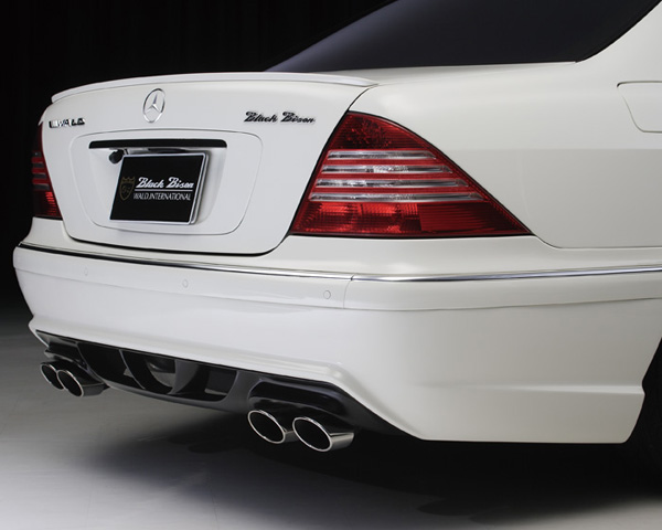 Wald International Black Bison Rear Bumper Mercedes-Benz S-Class 03-06 - W220.BB.RB.03